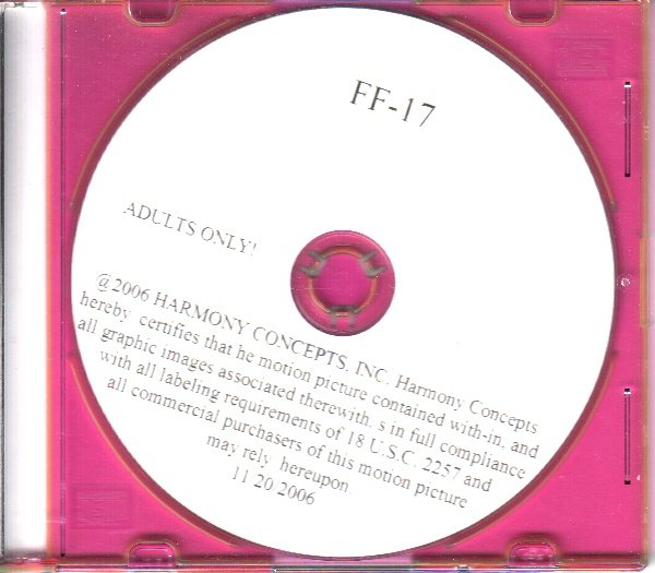 Harmony Concepts Fetishes  FF-17 DVD