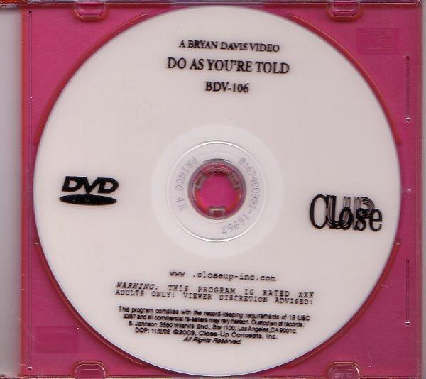 Closeup Concepts Bryan Davis BDV-106 DVD