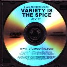 Closeup Concepts Jay Edwards JEV-107 Variety Is The Spice DVD