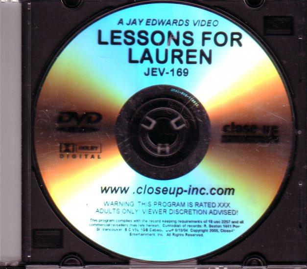 Closeup Concepts Jay Edwards JEV-169 LESSONS FOR LAUREN DVD
