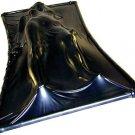 Extreme Black Latex Vacuum Bed