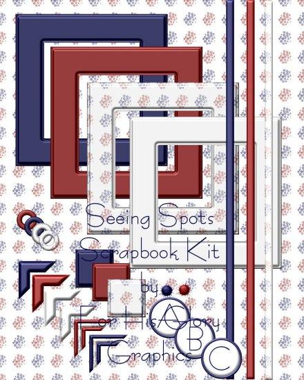 Seeing Spots Scrap Kit