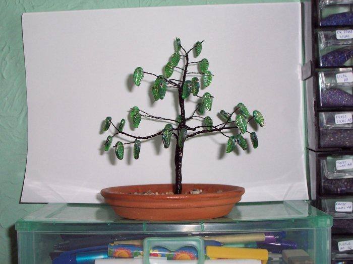 Black & Green Tree