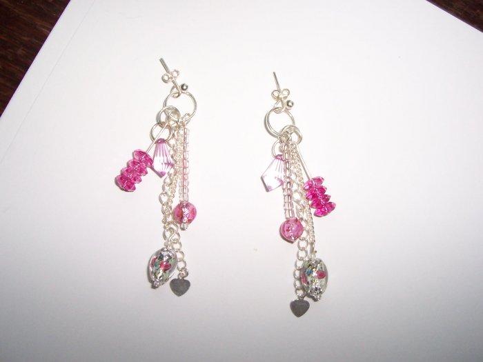 Dangle Charm earrings