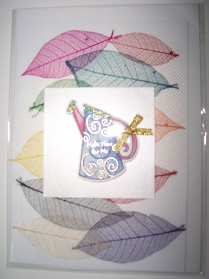 Watering Can greeting card