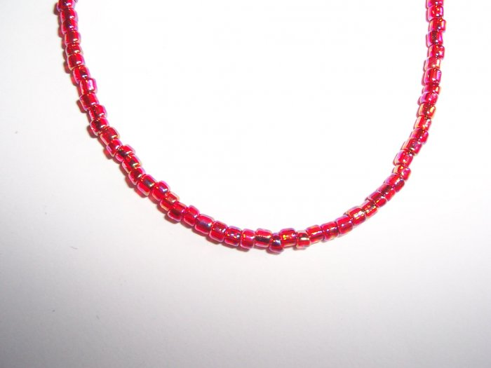 Single bead strand necklace