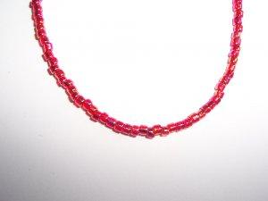 Single bead strand necklace