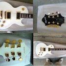 Myaxe Les Paul Custom White Guitar Hand Built + Case and Ship