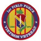 1st Field Force Vietnam Veteran Patch 1966-1971