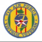 7th Air Force Vietnam Veteran Patch