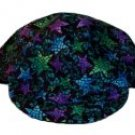 Blue & Green Stars Welder Biker hat, your size