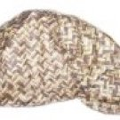 Brown Zig Zag Welder Biker hat, your size