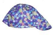 Psychodelic Dots Welder Biker hat, your size