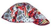 Red Gambler Welder Biker hat, your size