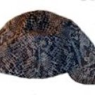Snakeskin Print Welder Biker hat, your size