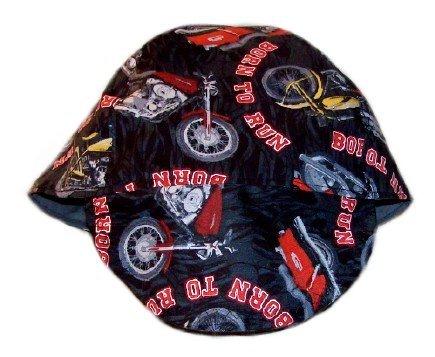 Red Motorcycles Welder Biker hat, your size