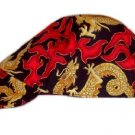 Red Flame Welder Biker hat, your size