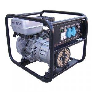 Hyundai 3,000 Watt 196cc OHV Gas Powered Portable Generator #HY3100