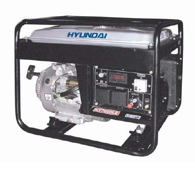 Hyundai; HY7000SE; Gasoline Silent Generator; 5,500 w Cont. Output; 6,500 w Max. Output