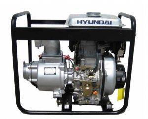 "Hyundai DHY80L 296cc 3,000 RPM Diesel Engine Pump w/ 6HP Direct Injection, 3"" Diameter"