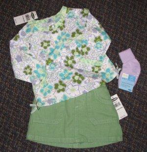 OLD NAVY 3 pieces MOD Skort SET - Size 6-12 months