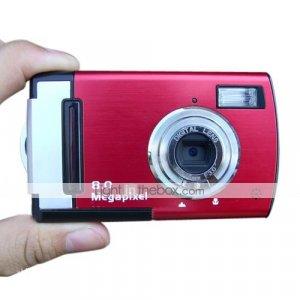 Vivikai DC-500CU 8.0MP (Via Interpolation) Digital Camera with 2.4-inch TFT LCD