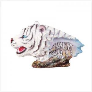 White Tiger Head