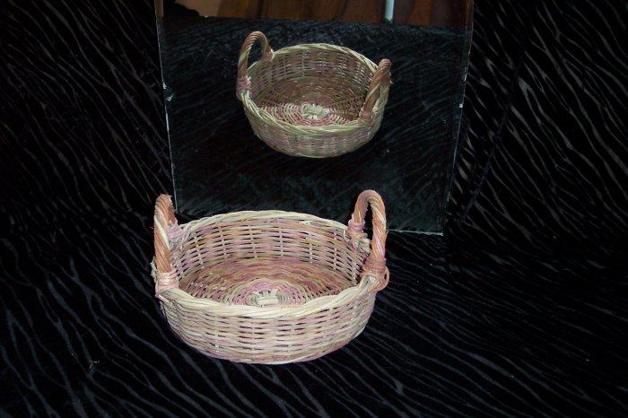VINTAGE Casserole Basket with Handle *
