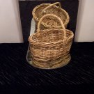 VINTAGE Large Handled Basket *