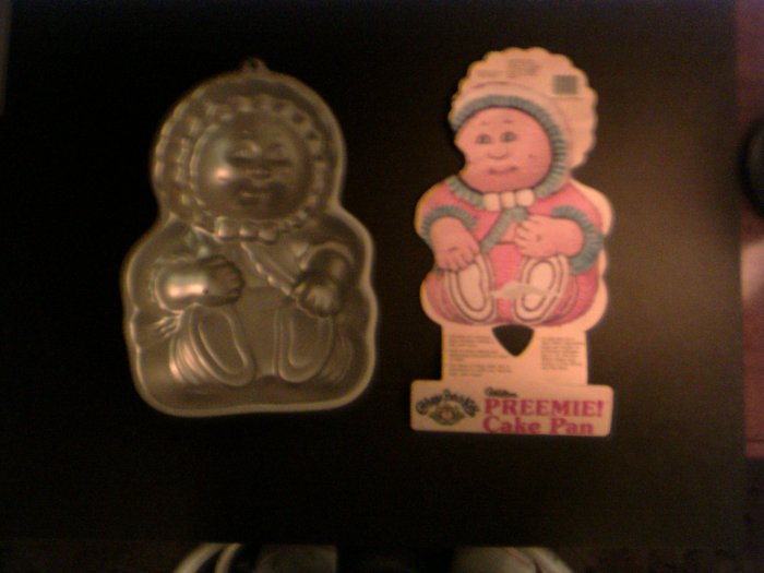 Cabbage Patch Kid Preemie Cake Pan -- by Wilton -- 2105-1990 -- 1985 *