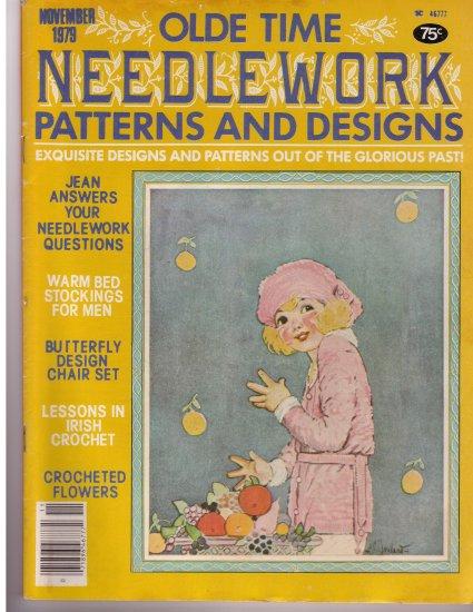 Olde Time Needlework Magazine November 1979 *