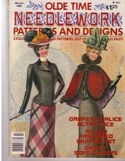 Olde Time Needlework Magazine Winter 1981 *