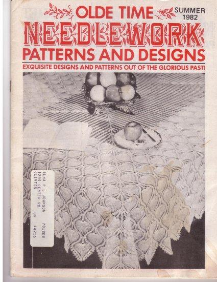 Olde Time Needlework Magazine Summer 1982 *