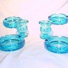 Tiara Glassware -- Bicentennial 6 piece Smoker Set
