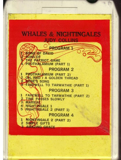 8 - Track -- JUDY COLLINS -- Whales & Nightingales
