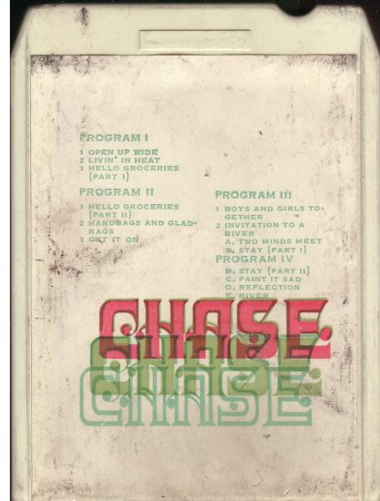 8 - Track -- CHASE
