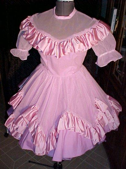 Special Events Purple Square Dance Dress *