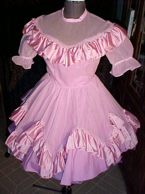 Special Events Purple Square Dance Dress *