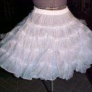 Square Dance White Petticoat -- Raver; Punk; and Harijuku *
