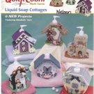 Liquid Soap Cottages -- Quick Count Plastic Canvas *