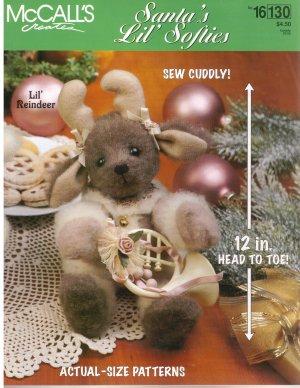 McCall's Santa's Lil' Softies *