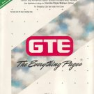 1991 Tri-Cities and Vicinity GTE Telephone Book *