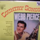 COUNTRY SONGS -- WEBB PIERCE