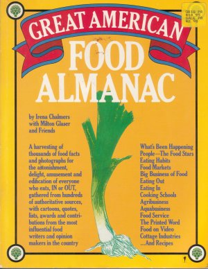 Great American Food Almanac *