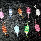 Beaded Christmas Lantern Ornaments