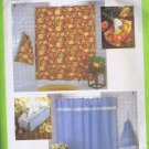 8485 Simplicity -- Shower Curtain, Laundry Bag, Tissue Box Cover *