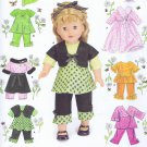 "2458 Simplcity -- 18"" Doll Clothes *"