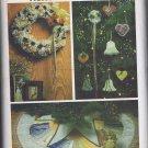 4013 Butterick -- Christmas Decorations *