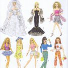 4719 Simplicity -- Barbie Doll Fashions *