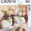 6159 McCall's -- Holi-Deer Christmas Decorations *